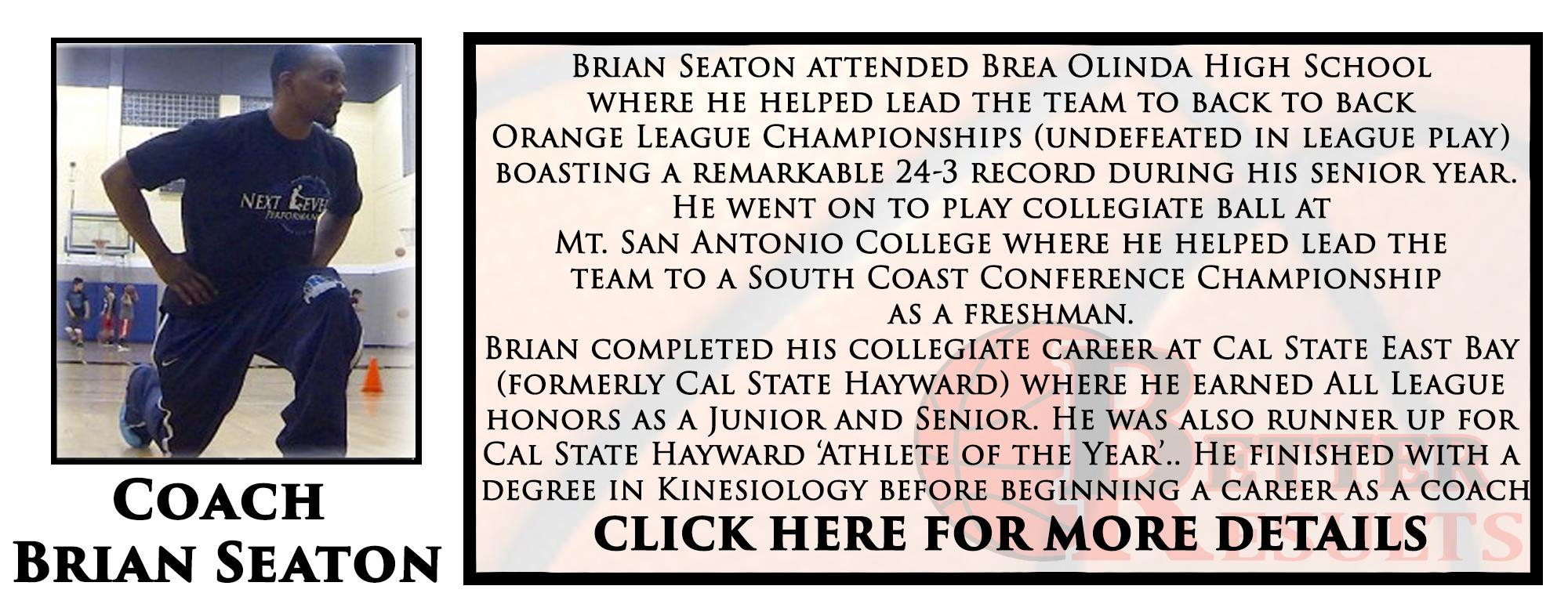 coach brian bio