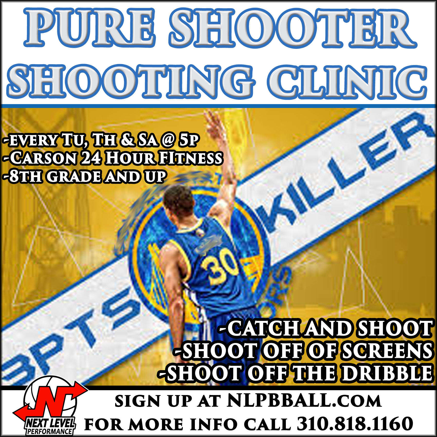 pure shooter flyer