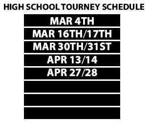 high school tourney schedule