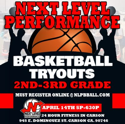 2ND 3RD GRADE TRYOUT FLYER