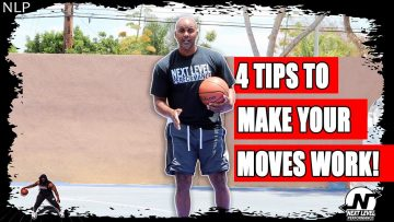 How to make your basketball moves work against defenders