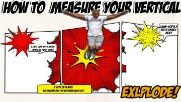 How to measure your vertical jump