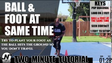 Two Minute Basketball Move Tutorial…5 keys to doing a stepback